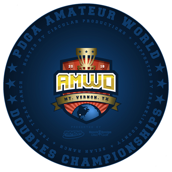 PDGA Amateur World Doubles Championships logo