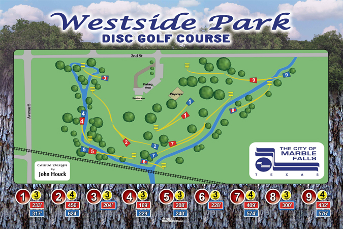 Current Disc Golf Course Design Projects By John Houck