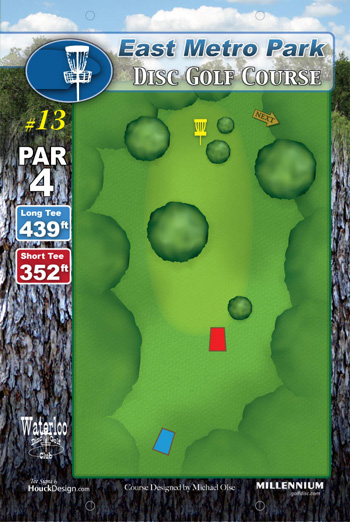 Disc Golf Tee Signs - DGA | Disc Golf Association  |Frisbee Golf Sign