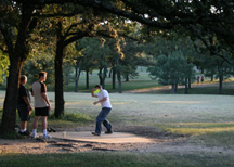 Zilker Park Disc Golf Course